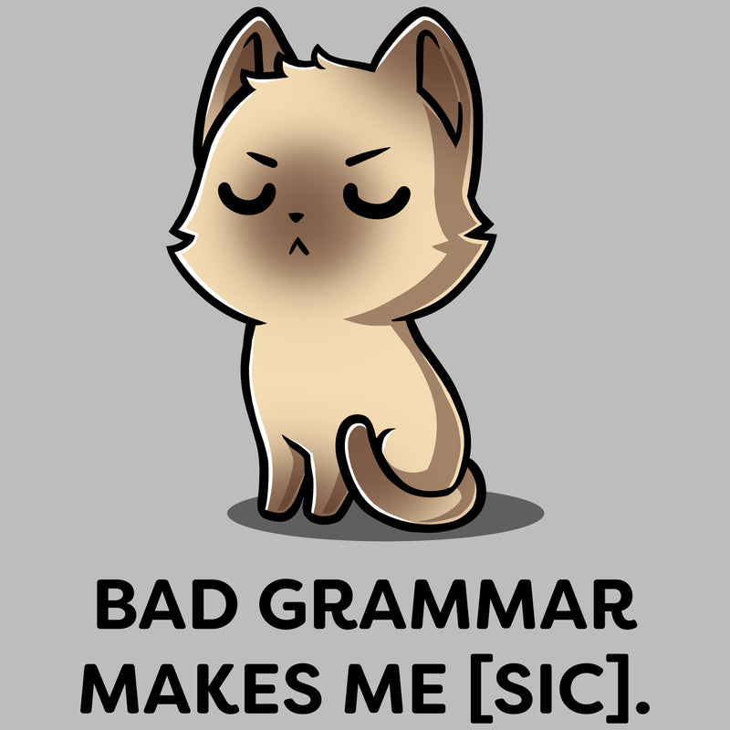Bad Grammar T-Shirt TeeTurtle