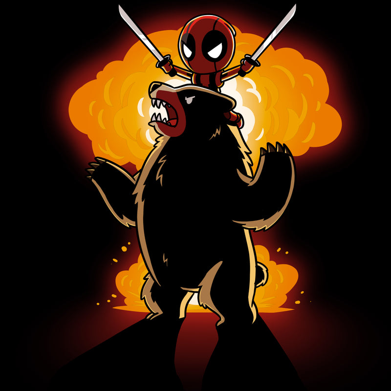 Badass Deadpool Shirt T-Shirt Marvel TeeTurtle