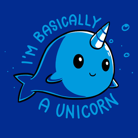 I'm Basically a Unicorn t-shirt TeeTurtle Minis