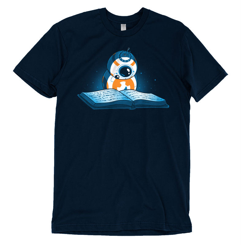 BB-8 Reads T-Shirt Star Wars TeeTurtle
