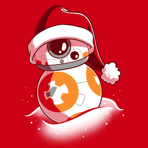 BB-8 Santa Hat T-Shirt Star Wars TeeTurtle