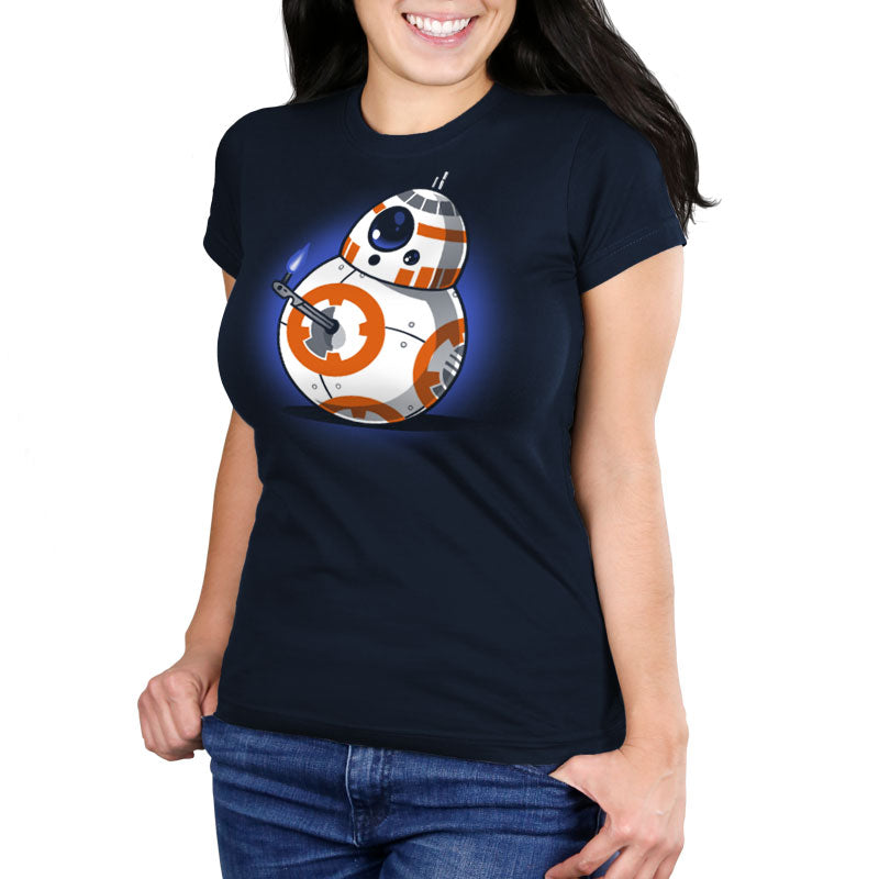 Thumbs Up! Women's Ultra Slim T-Shirt Model Star Wars TeeTurtle