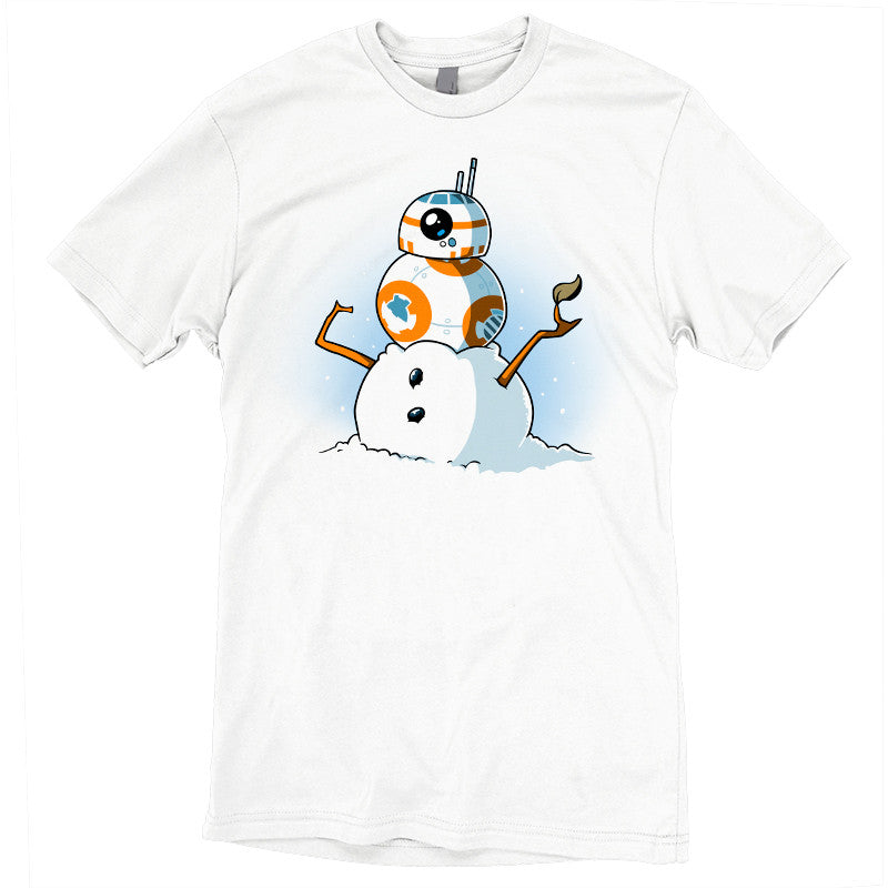 BB-8 Snowman t-shirt Star Wars TeeTurtle