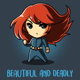 Beautiful and Deadly T-Shirt Marvel TeeTurtle