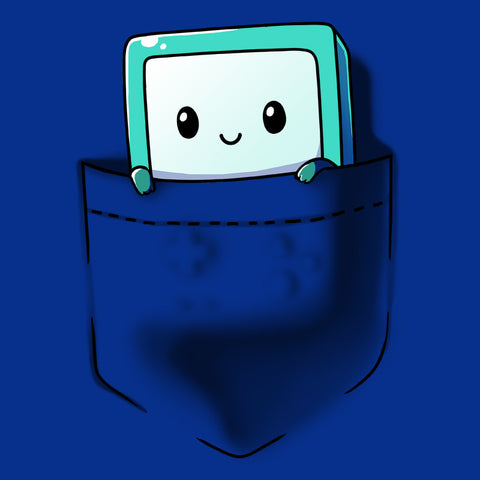 BMO Pocket t-shirt Adventure Time TeeTurtle
