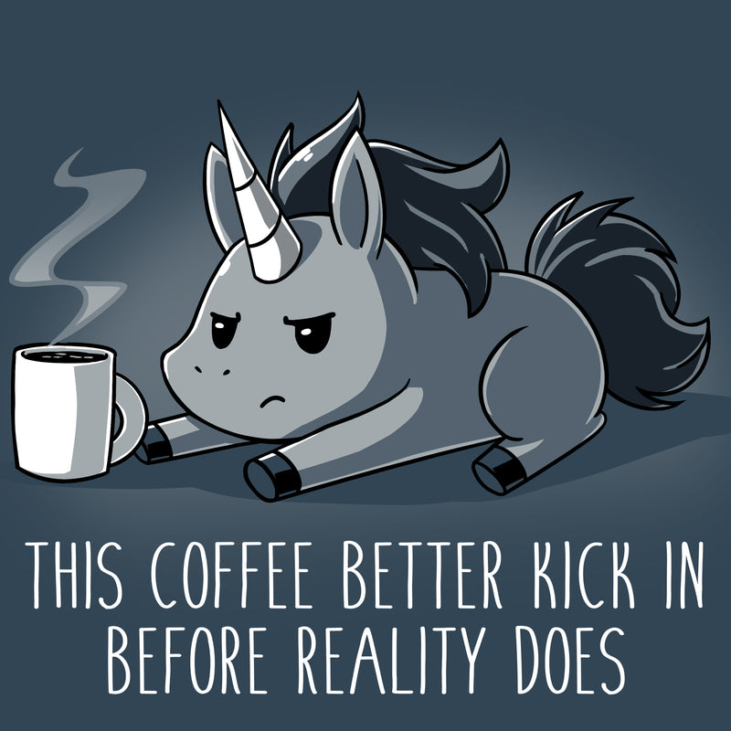 Before Reality Kicks In T-Shirt TeeTurtle