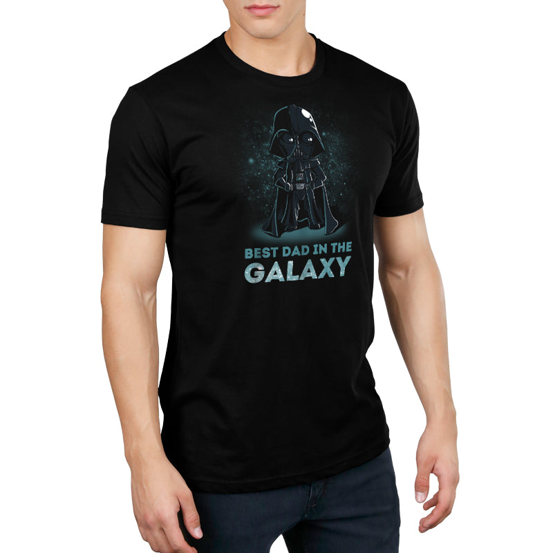 Best Dad in the Galaxy Standard t-shirt model Star Wars TeeTurtle