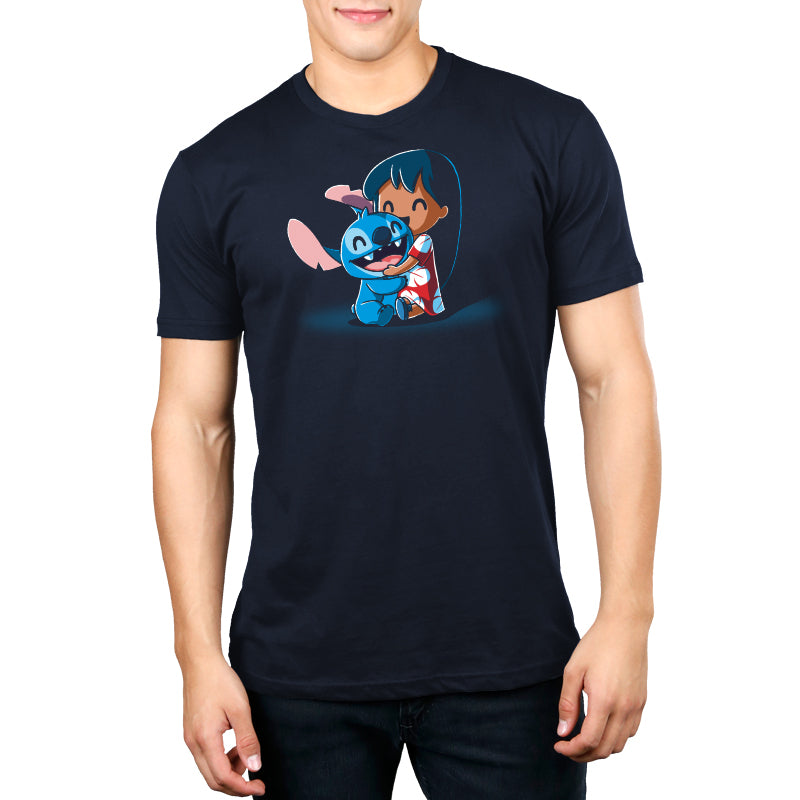 BFFs (Lilo and Stitch) Standard T-Shirt Model Disney TeeTurtle