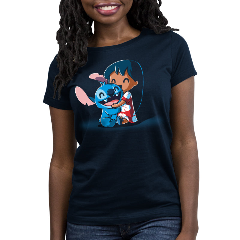 BFFs (Lilo and Stitch) Women's Relaxed Fit T-Shirt Model Disney TeeTurtle