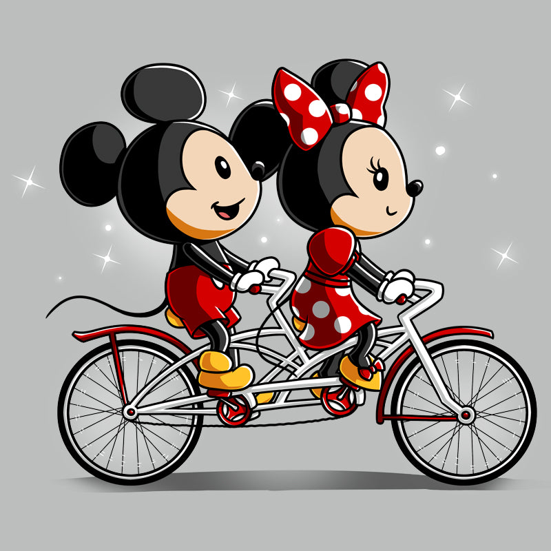 Biking Down Main Street T-Shirt Disney TeeTurtle