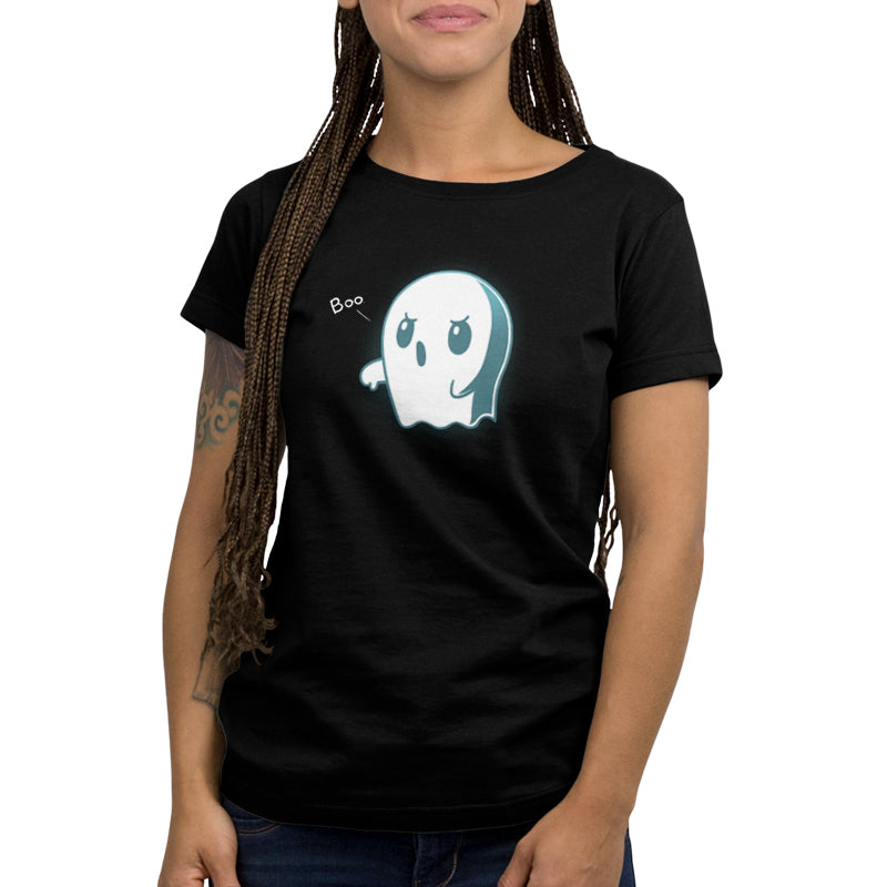 Boo. Women's T-Shirt Model TeeTurtle