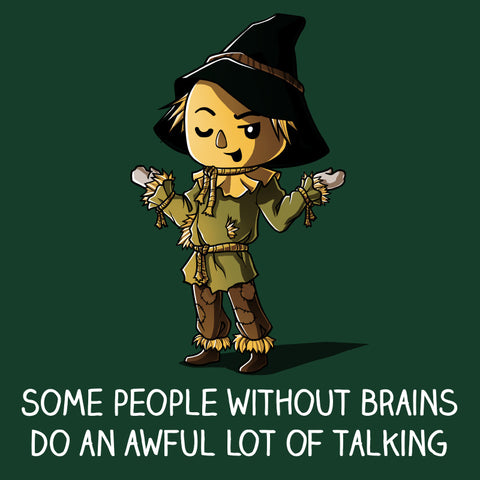 Brainless t-shirt Wizard of Oz TeeTurtle