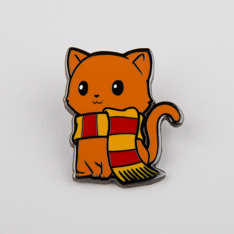 Brave Kitty Pin