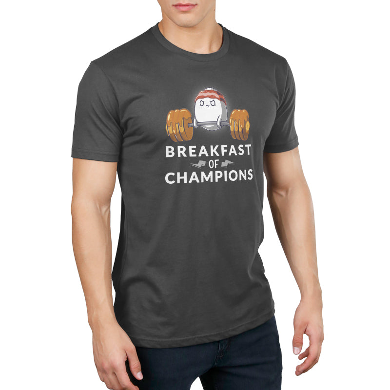 Breakfast of Champs Men's T-Shirt Model TeeTurtle