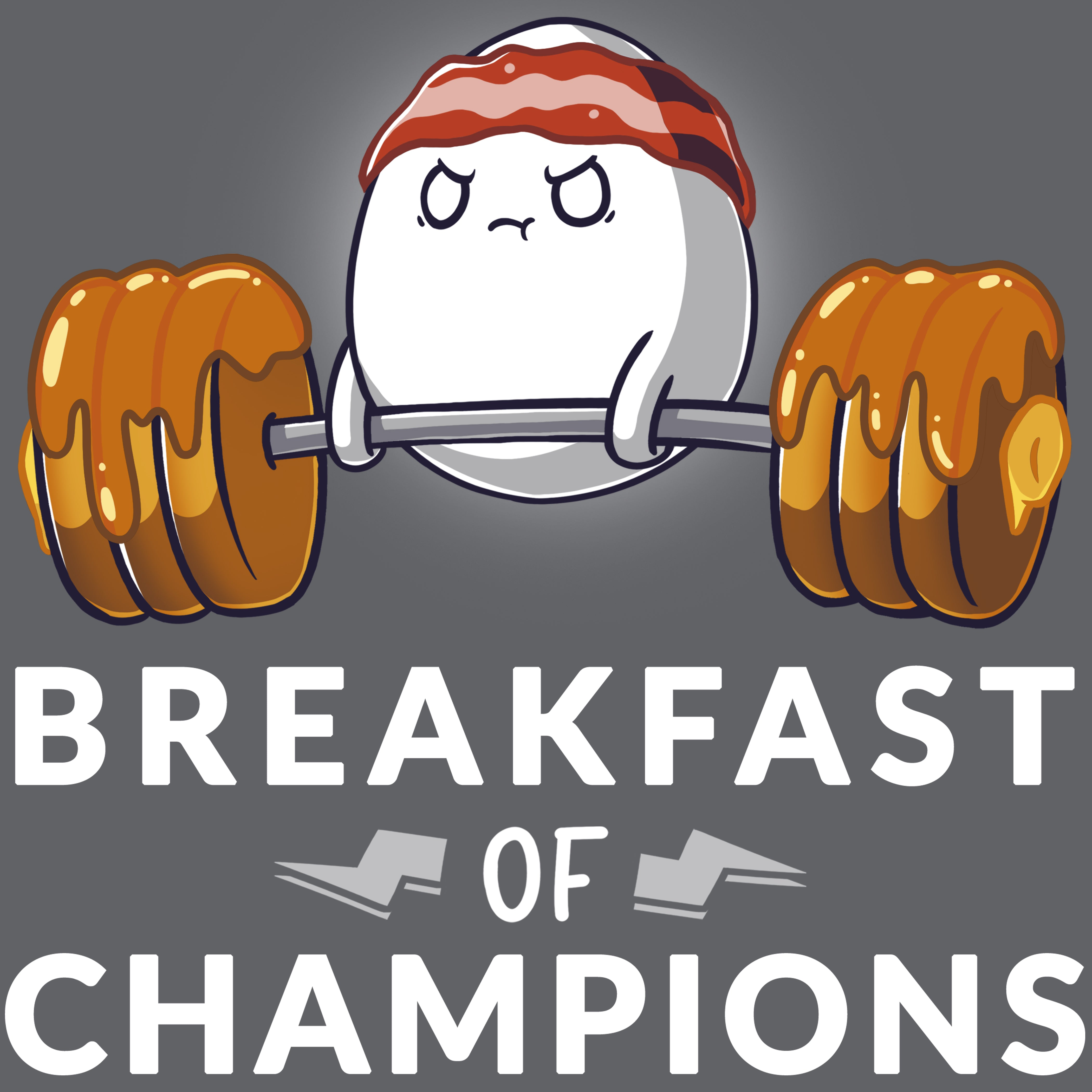 Breakfast of Champs T-Shirt TeeTurtle