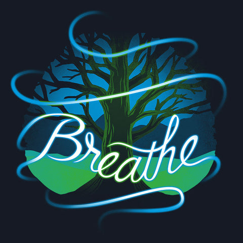 Breathe t-shirt TeeTurtle