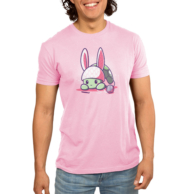 Bunny Ears Men's T-Shirt Model TeeTurtle