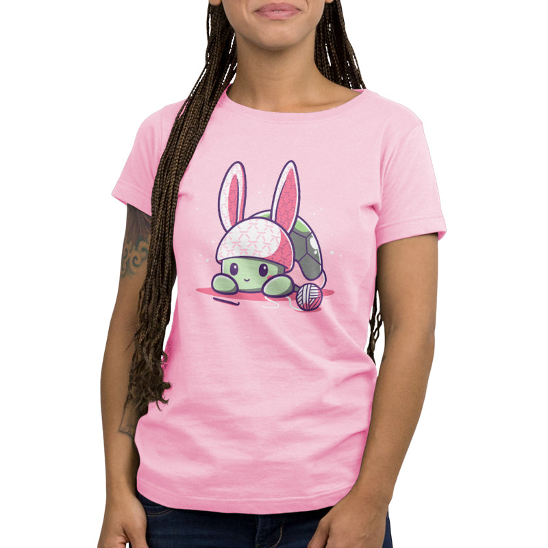 Bunny Ears Women's T-Shirt Model TeeTurtle