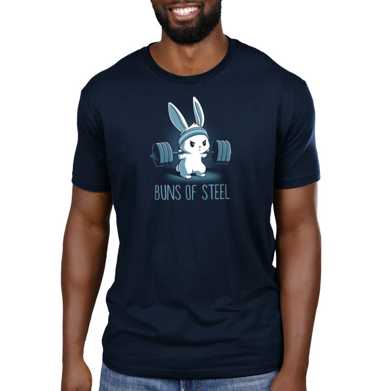 Buns of Steel Standard T-Shirt Model TeeTurtle