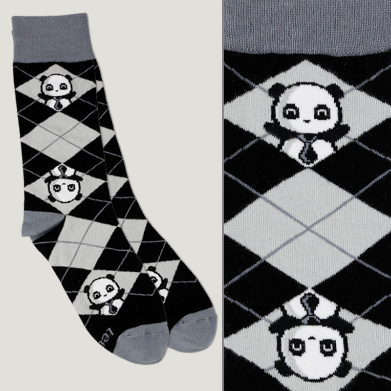 Business Panda Socks