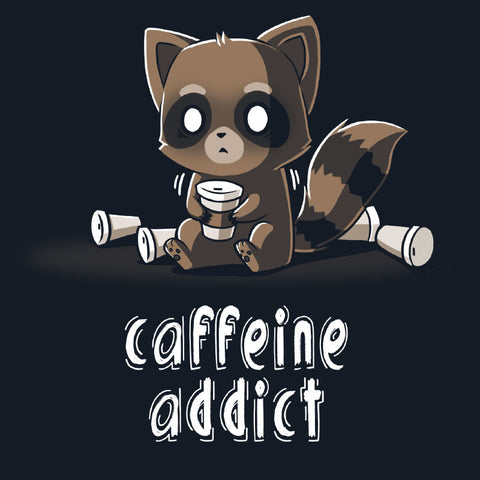 Caffeine Addict t-shirt TeeTurtle