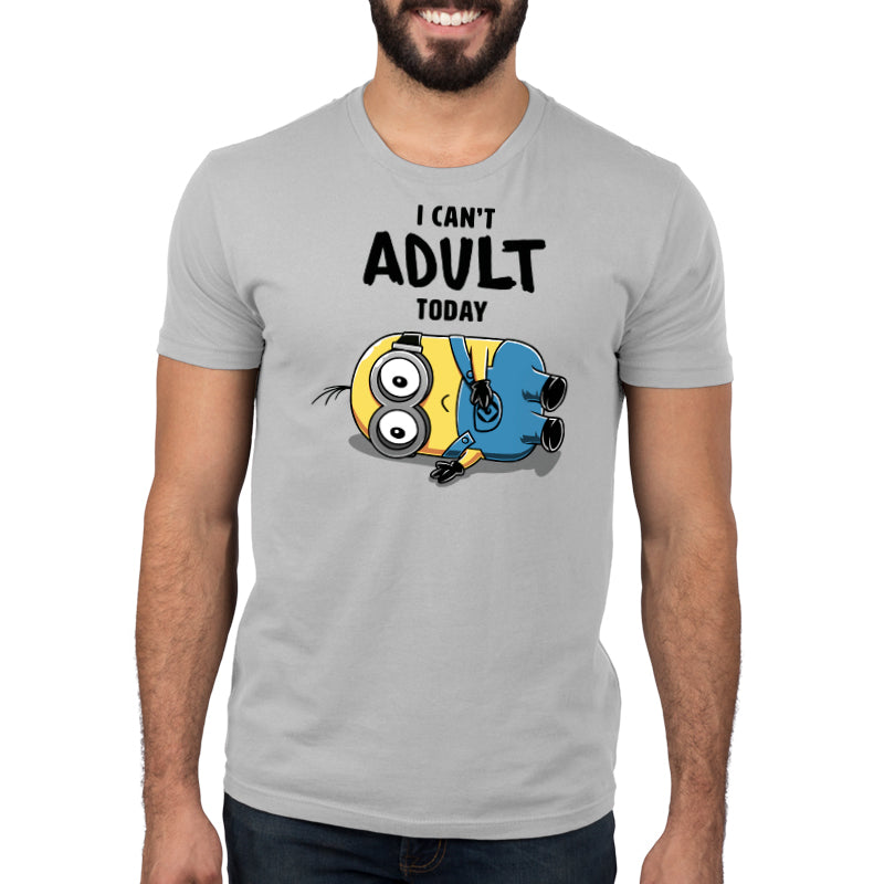 Minions Can't Adult Today Standard T-Shirt Model DreamWorks TeeTurtle