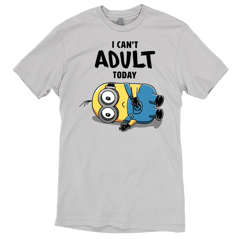 Minions Can't Adult Today T-Shirt DreamWorks TeeTurtle