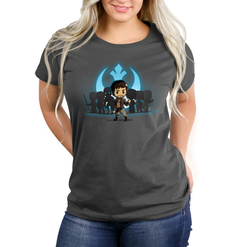 Captain Cassian Andor Women's Relaxed Fit T-Shirt Model Star Wars TeeTurtle