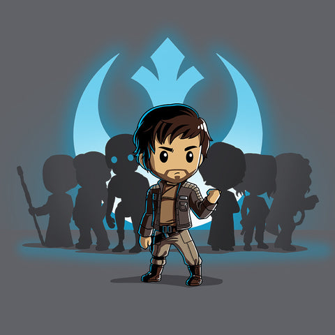Captain Cassian Andor t-shirt Star Wars TeeTurtle