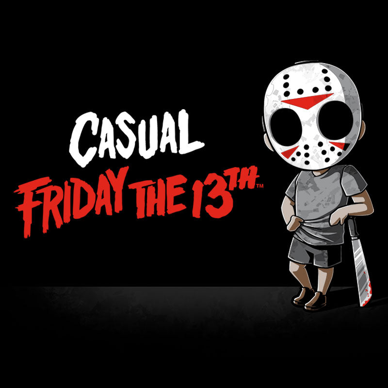Casual Friday the 13th T-Shirt Friday the 13th TeeTurtle