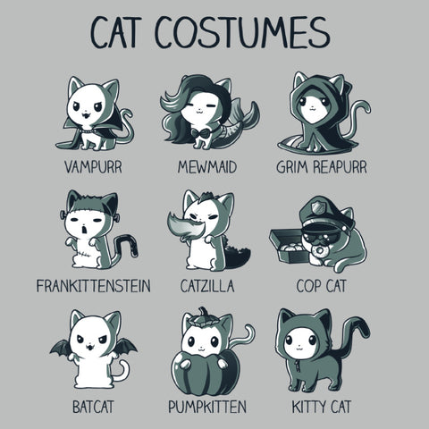 Cat Costumes shirt TeeTurtle