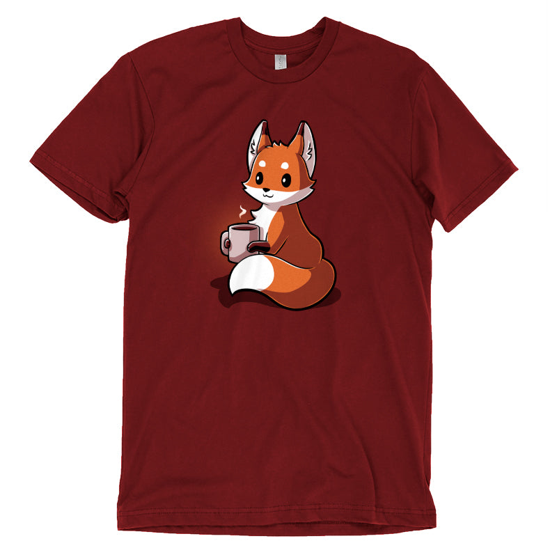 Coffee Fox T-Shirt TeeTurtle