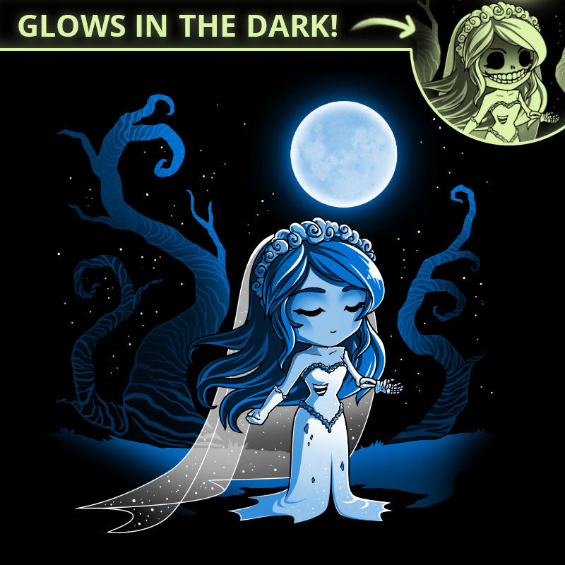 Corpse Bride t-shirt TeeTurtle