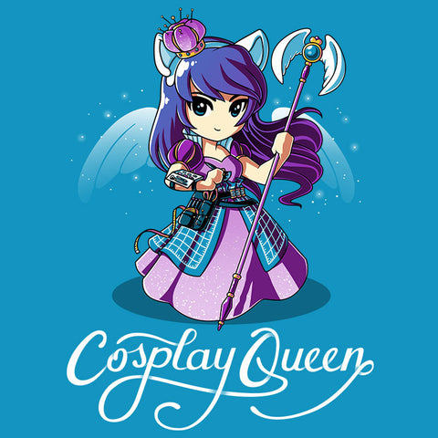 Cosplay Queen t-shirt TeeTurtle