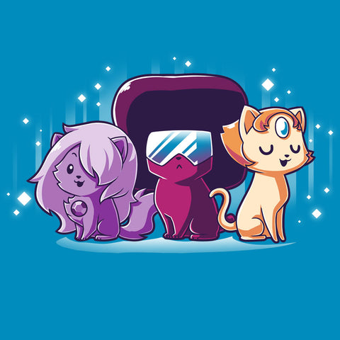 The Crystal Cats T-Shirt Steven Universe TeeTurtle
