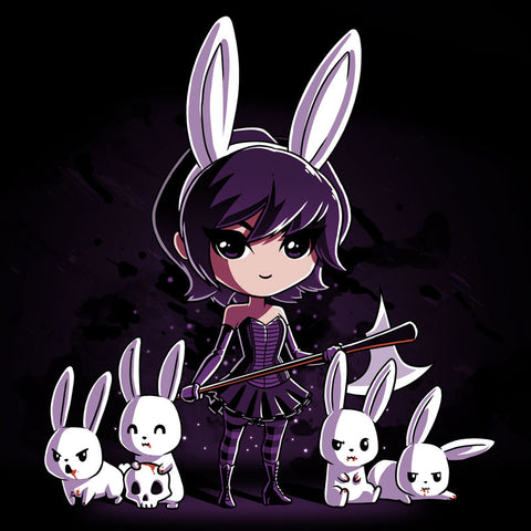 Dark Bunny t-shirt TeeTurtle