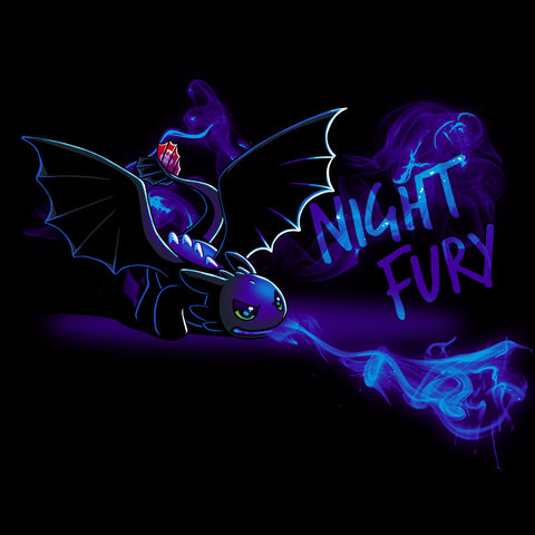 The Deadly Night Fury T-Shirt How to Train Your Dragon TeeTurtle