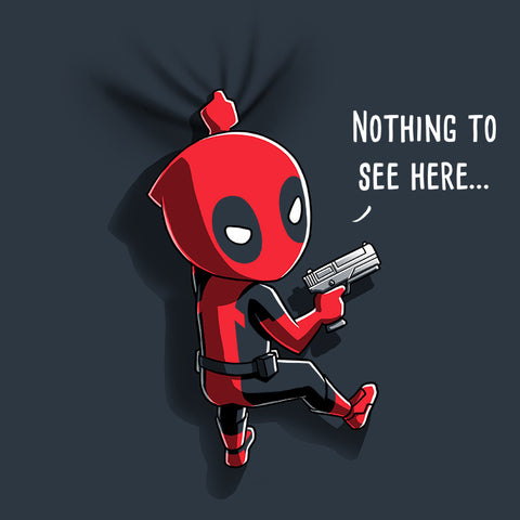 Deadpool Has Your Back t-shirt Marvel TeeTurtle