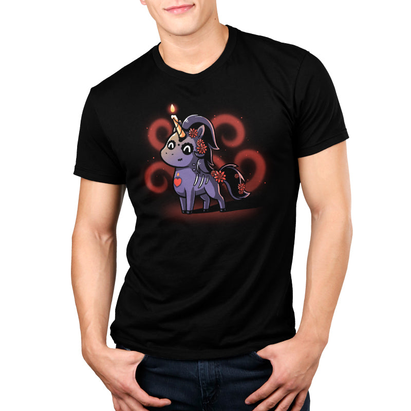 Dia de los Unicorns Men's T-Shirt Model TeeTurtle