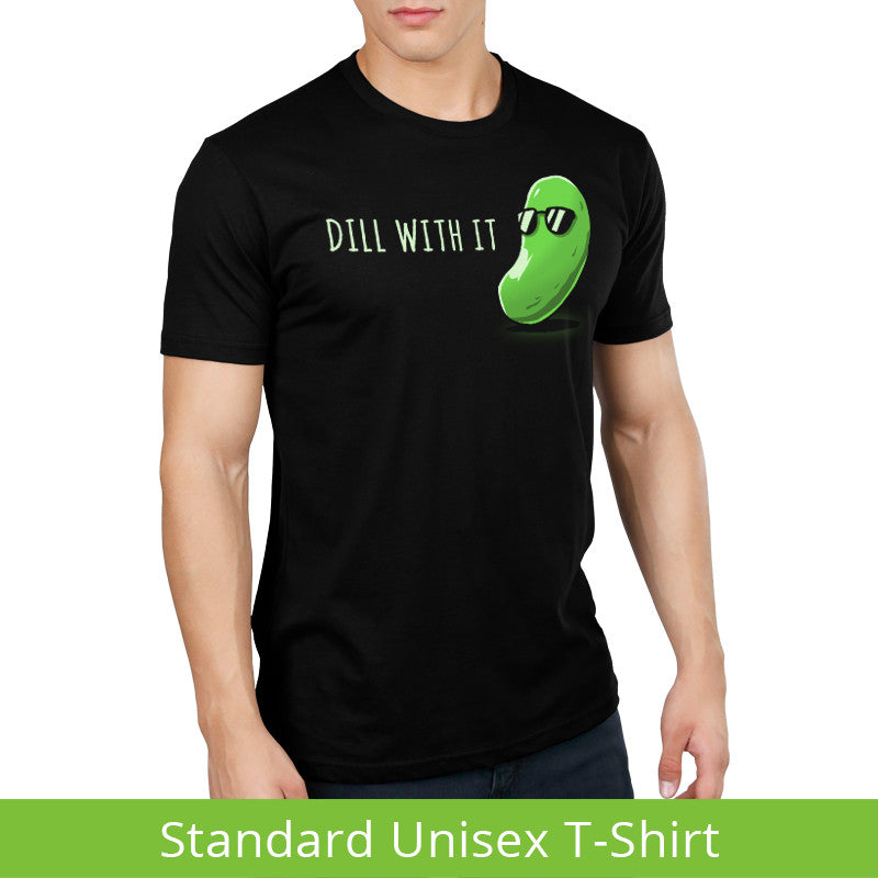 Dill With It Standard T-Shirt Model TeeTurtle
