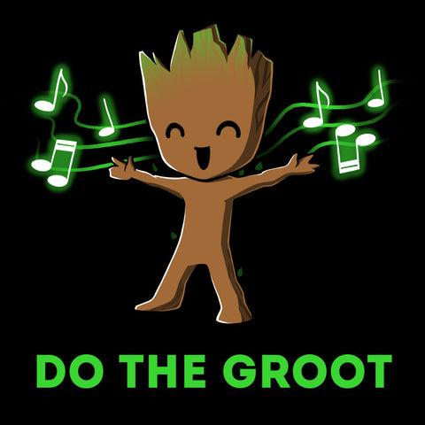 Do the Groot T-Shirt Marvel TeeTurtle