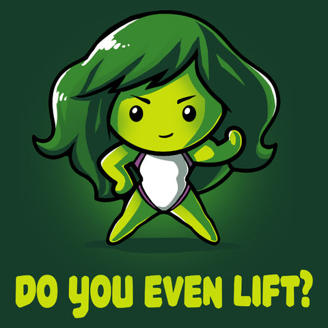 Do You Even Lift? T-Shirt Marvel TeeTurtle