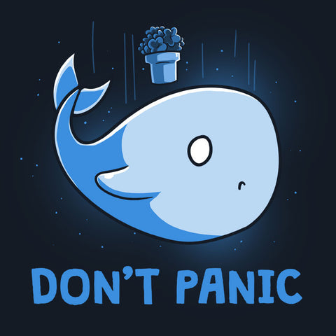 Don't Panic t-shirt TeeTurtle