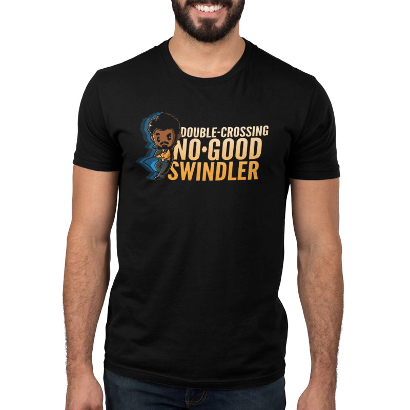 Double-Crossing, No-Good Swindler Men's T-Shirt Model Star Wars TeeTurtle