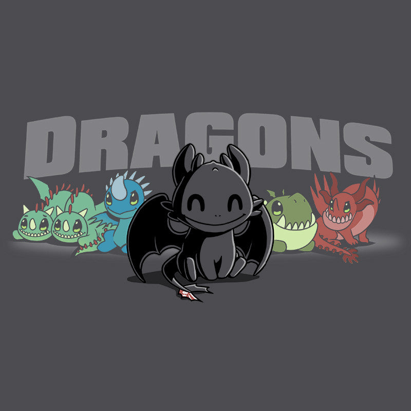 Dragons Shirt T-Shirt How to Train Your Dragon TeeTurtle