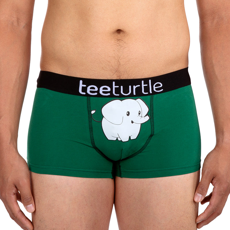 Elephant Underwear Model TeeTurtle