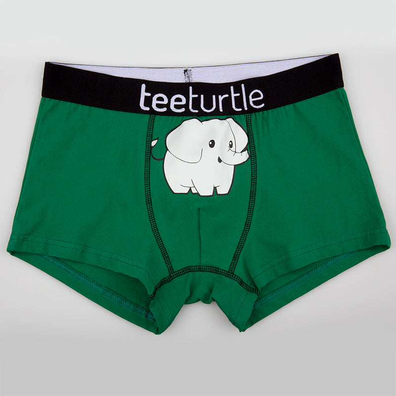 Elephant Underwear TeeTurtle