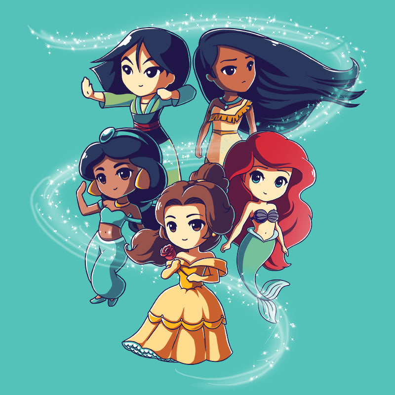 Enchanting Princesses T-Shirt Disney TeeTurtle