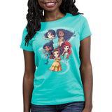 Enchanting Princesses Women's Relaxed Fit T-Shirt Model Disney TeeTurtle