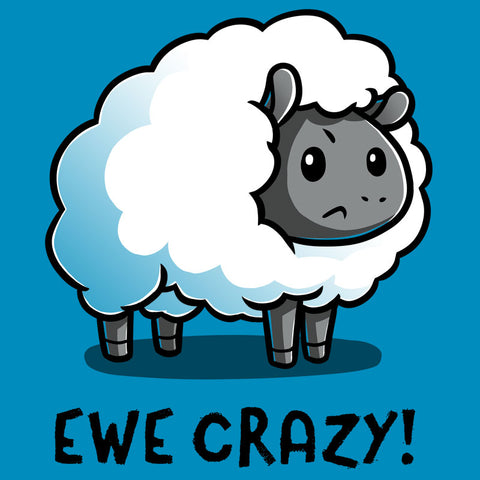 Ewe Crazy T-Shirt TeeTurtle
